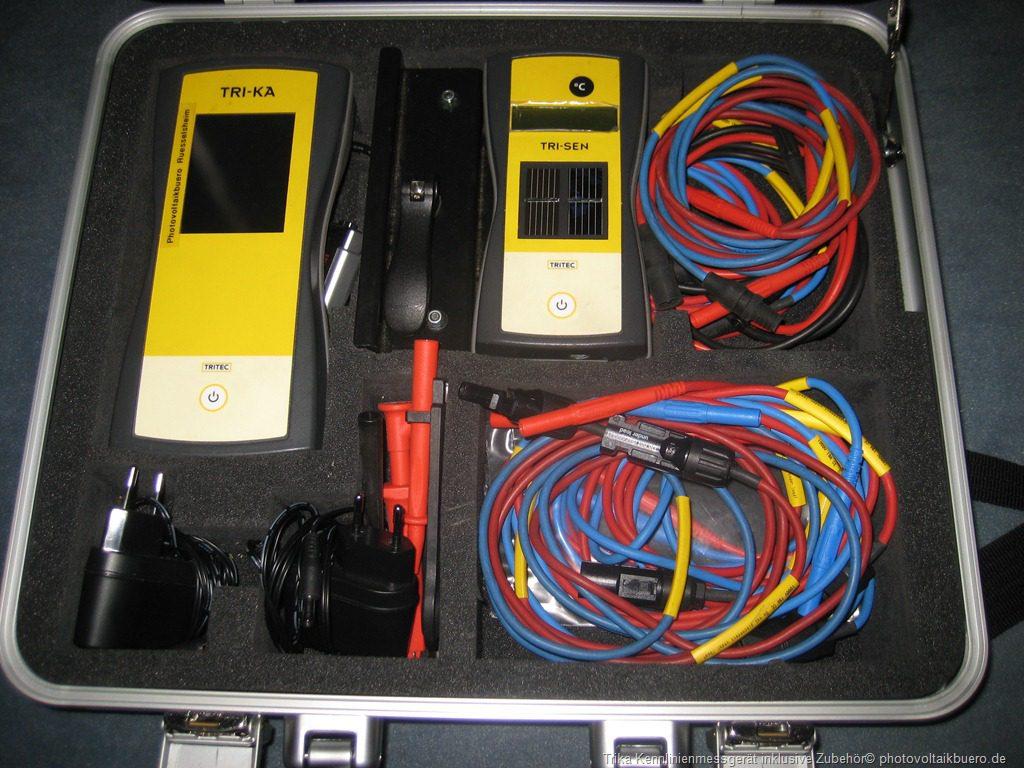 Das Bild zeigt das Trika Kennlinienmessgerät von Tritec