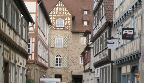Schönes Fachwerk in Kirchheim unter Teck